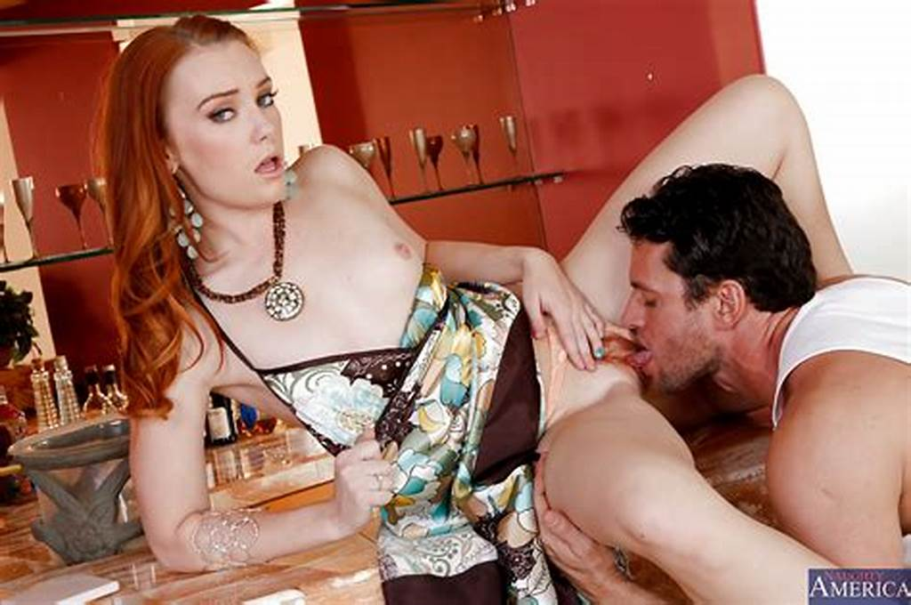 #Foxy #Redhead #Sweetie #Gets #Her #Trimmed #Pussy #Drilled #Tough