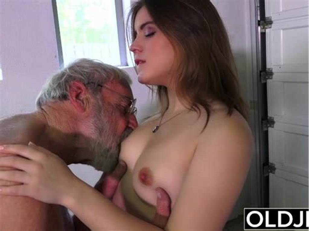 #Old #Man #Fucks #Young #Girl #His #Small #Cock #Fucks #Her #Mouth