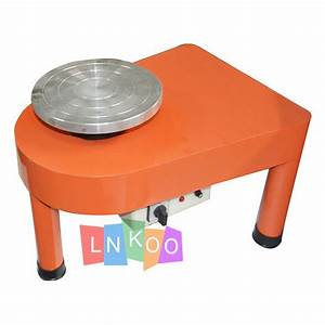 Detachable Red Pottery Wheel Ceramic Drawing Machine Clay