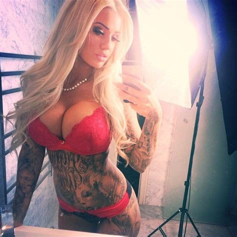 Nude tattoo chicks with big tits