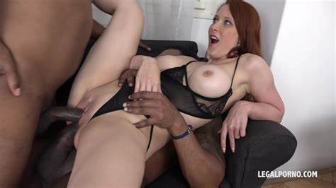 Blackcock Enjoy Cougar Creampie After Threesome