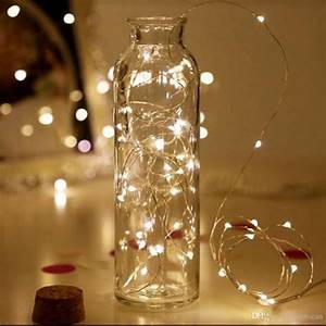 Led, Vase, String, Light, Cork, Type, Waterproof, Button, Battery, Operated, Fairy, Lights, For, Wedding