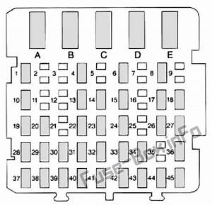 Fuse Box Diagram Buick Century  1997