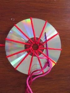 Basteln Mit Wolle Weihnachten : ein bisschen haushalt basteln mit cds weben ~ A.2002-acura-tl-radio.info Haus und Dekorationen