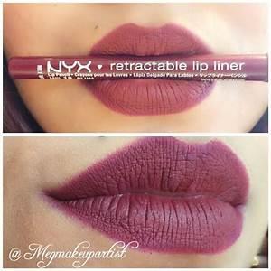 Risultati immagini per nyx mauve lip liner dark skin ...