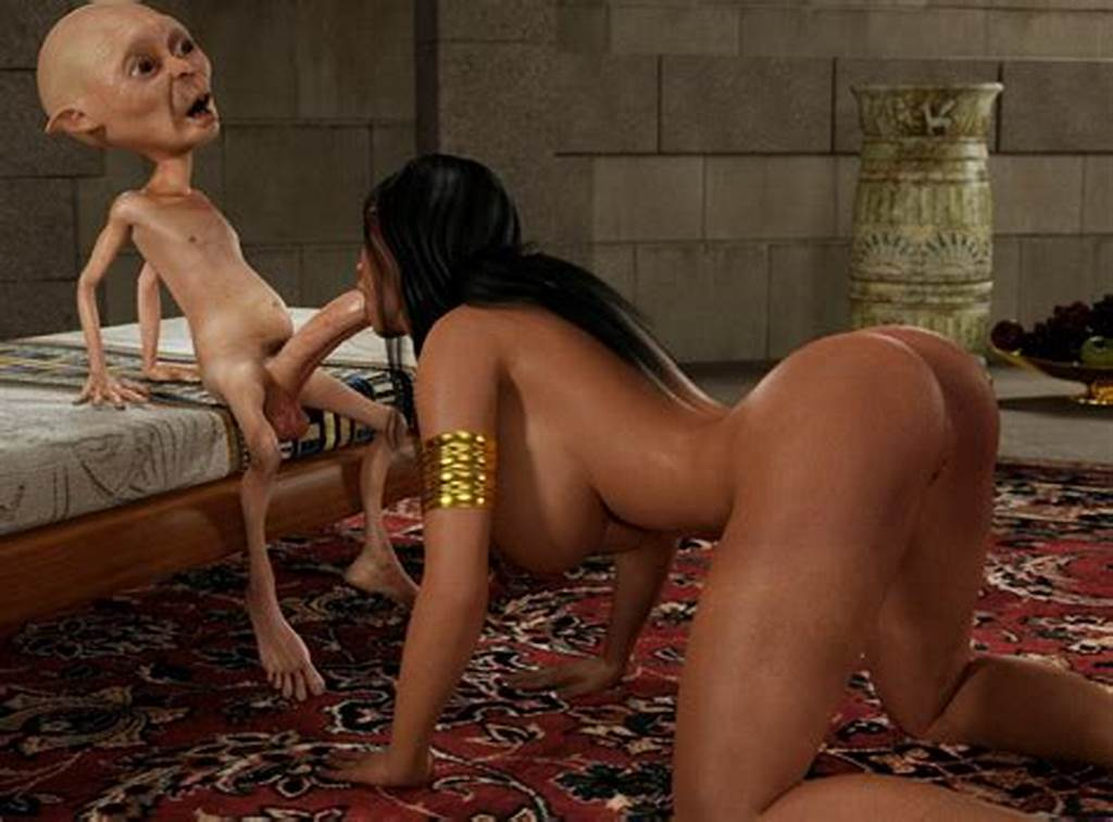 #Human #Princess #Grew #A #Taste #For #Monster #3D #Dicks