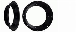 Harley 6 5 U0026quot  Speaker Adapter Plate Ring Kit Stereo Radio