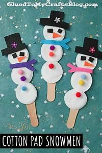 Cotton, Pad, Snowman, Puppets