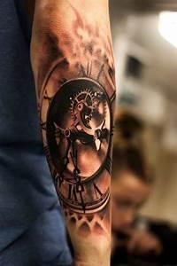Tatouage Montre A Gousset Avant Bras : tatouage r aliste bras recherche google tatouage tattoos tattoo designs men et incredible ~ Carolinahurricanesstore.com Idées de Décoration