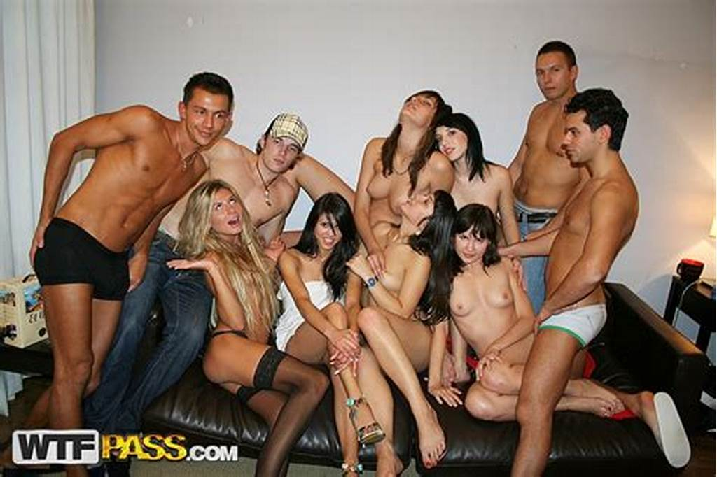 #College #Fuck #Party #With #Nude #Babes #On #The #Nature