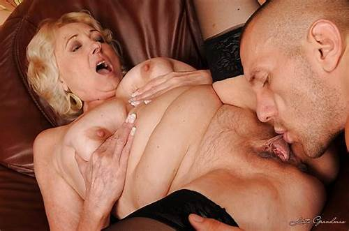 Lusty And Voluptuous Black Hair Milf Banged #Lusty #Granny #With #Ample #Ass #Gives #A #Blowjob #And #Gets