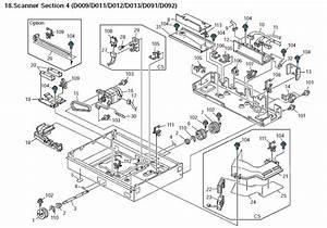 Ricoh Aficio Mp 5000 Parts List And Diagrams