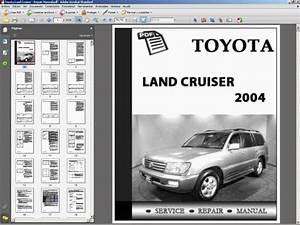 Toyota Land Cruiser   Repair Manual