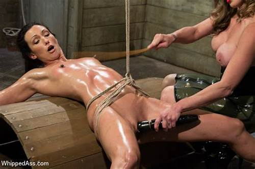 Fetish Corselette And Topless Domme Spanks In The Home #Felony #And #Bondage #Babe #Wenona #Oiled #And #Tied #Up #While