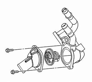 Where Is The Thermostat Location On A 4 Cylinder 2007 G6