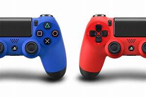 DualShock 4 controller coming in 'Magma Red' and 'Wave ...