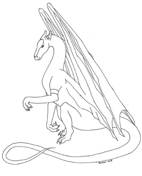 Free Printable Dragon Coloring Pages For Kids (With images