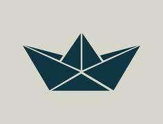 Origami Bateau à Voile : voilier bateau pochoir en vinyle adh sif ref 203 ~ Dode.kayakingforconservation.com Idées de Décoration