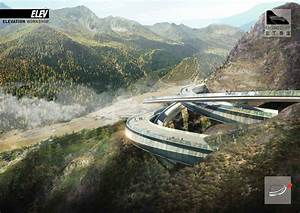 Gallery of Yading Cliff Building Competition Entry / ELEV