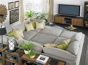 Stunning living room sectional ideas for small space for Sectional sofa for a small room