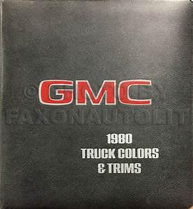 1980 Gmc Chevy Ck Wiring Diagram Original Pickup Suburban Jimmy Blazer