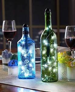 Lighted Wine Bottle Stoppers Light My Bottle Lighted Wine Bottles Liquor Bottle
