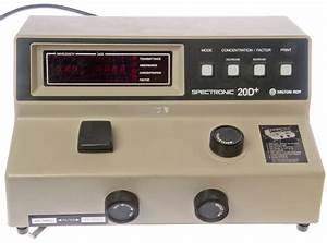 Spectronic 20d Spertrophotometer
