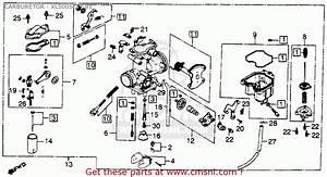 Honda Xl500s 1981 Usa Carburetor