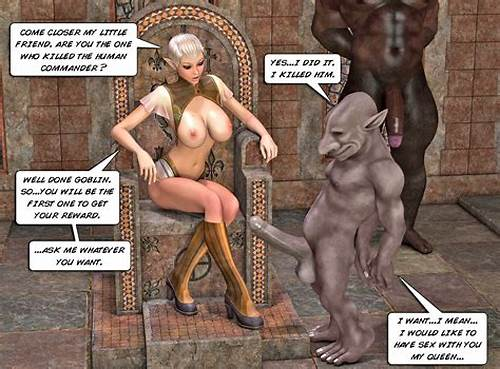 Sexy Elvish Damn Pussylicking Large Monster Prick #Horny #Elfin #Queen #Fucks #Hard #A #Huge #Cock #Horny #Goblin #In