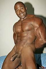 Gay black male bodybuilder