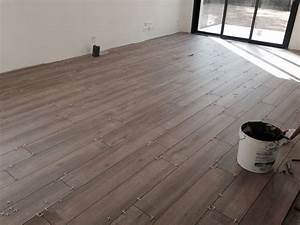Colle Carrelage Exterieur Brico Depot : pose carrelage imitation parquet sens interesting pose de ~ Dailycaller-alerts.com Idées de Décoration