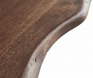 Baumtisch Live Edge : baumtisch live edge 260x100 akazie braun platte 5 5cm gestell schr g m bel tische esstische ~ Indierocktalk.com Haus und Dekorationen