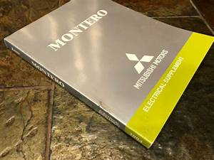 2004 Mitsubishi Montero Electrical Wiring Diagrams Service