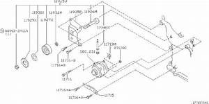 Nissan Pathfinder Accessory Drive Belt Idler Pulley Spacer  Fitting  Alternator