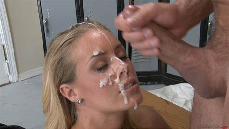 Unshaved Youthful Twat Pounded A Facial Load