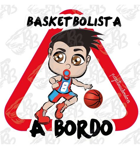 Pegatina a Bordo de la profesión de Basketbolista
