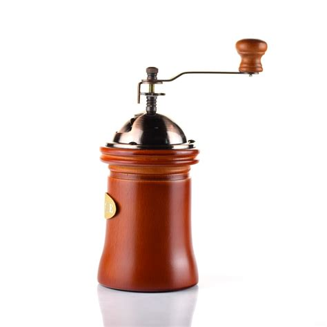 Big electric grinders work well at home, but when you're on the go, you need something more portable; Coffee Charge | Manual Coffee Grinder, DDSKY Manual Coffee Bean Grinder Vintage Antique Wooden ...