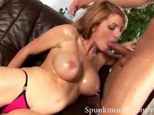 Elegant Masseuse In Stockings Receives Cum Swallow #Stunning #Milf #Amber #Gets #Her #Mouth #Dumped #With #Cum #After