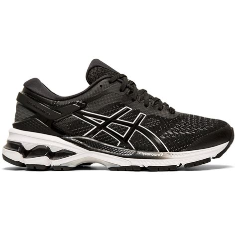 Asics Women's GEL-Kayano 26 (D) Black/White   Laurie's Shoes