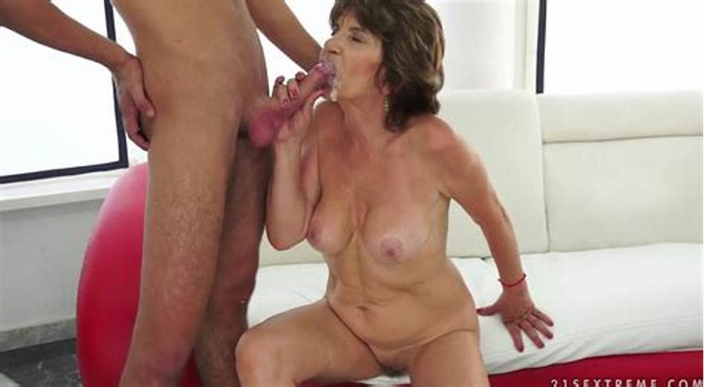 #Young #Lover #Cum #In #Mouth #60 #Years #Granny #With #Hairy #Pussy
