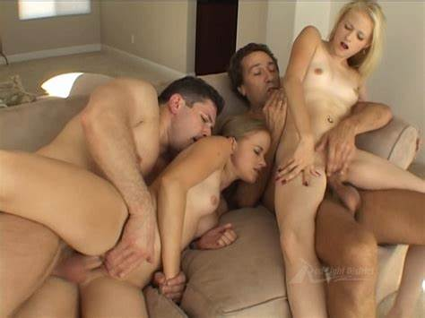 Lecherous Bitches Tries Foursome Porn With Double Penetration