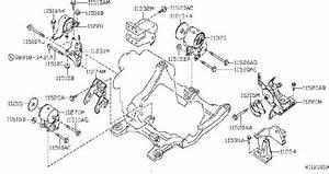 Nissan Altima Engine Mount Bracket  Front