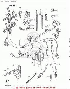 Suzuki Gr650   X Tempter 1983  Usa  Wiring Harness