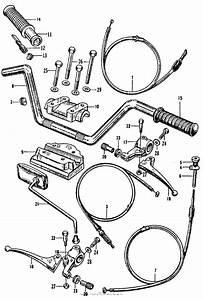 Handlebar For 1966 Honda Ca160
