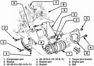 A  C Compressor Suction Side