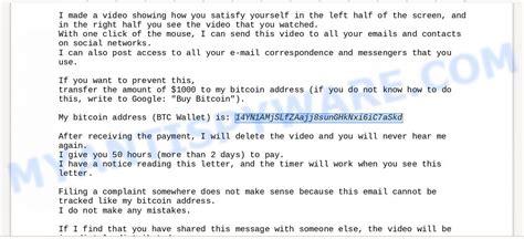 October 19, 2018 by mark e. 14YN1AMjSLfZAajj8sunGHkNxi6iC7aSkd Bitcoin Email Scam