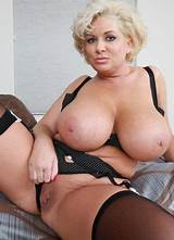 Big tit stocking and garter porn