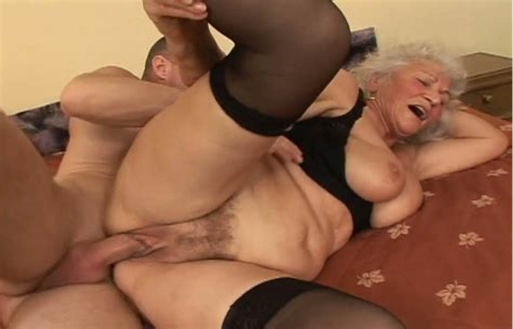 #Busty #Granny #In #Nylon #Stockings #Riding #Hard #Dick #On #Top #In