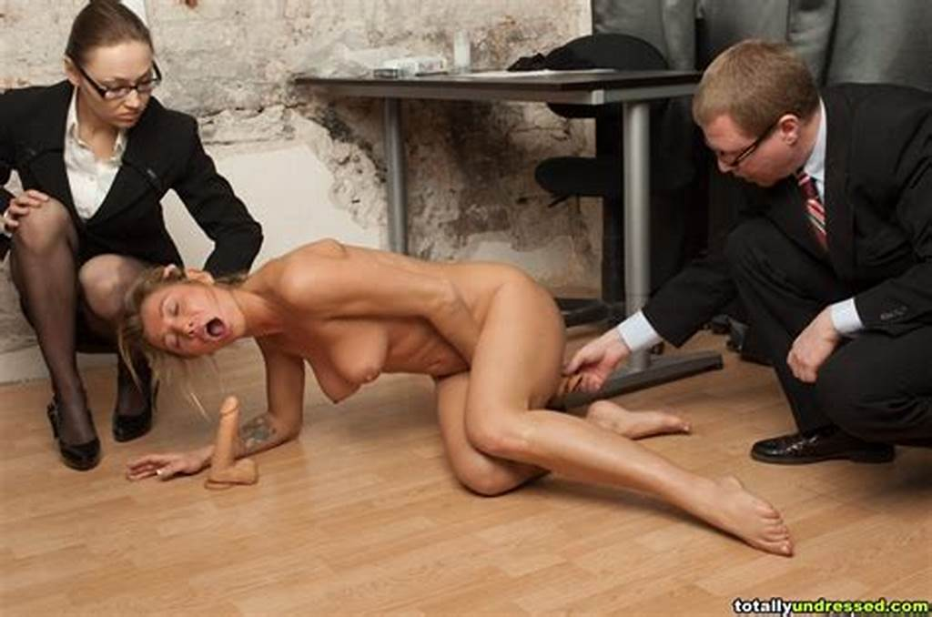 #Dildo #Fuck #Test #For #A #Bigtitted #Candidate