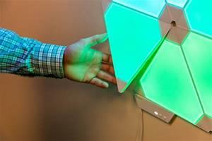 Philips Hue Light Panel Nanoleaf Aurora Smarter Kit Review Digital Trends